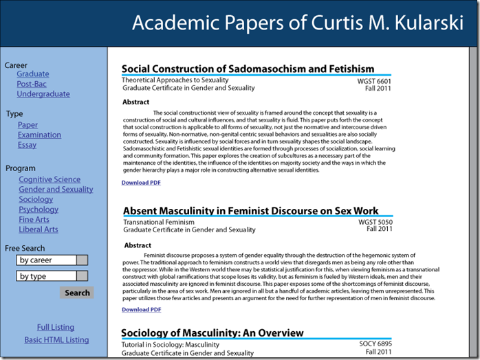 Papers-Site-Design